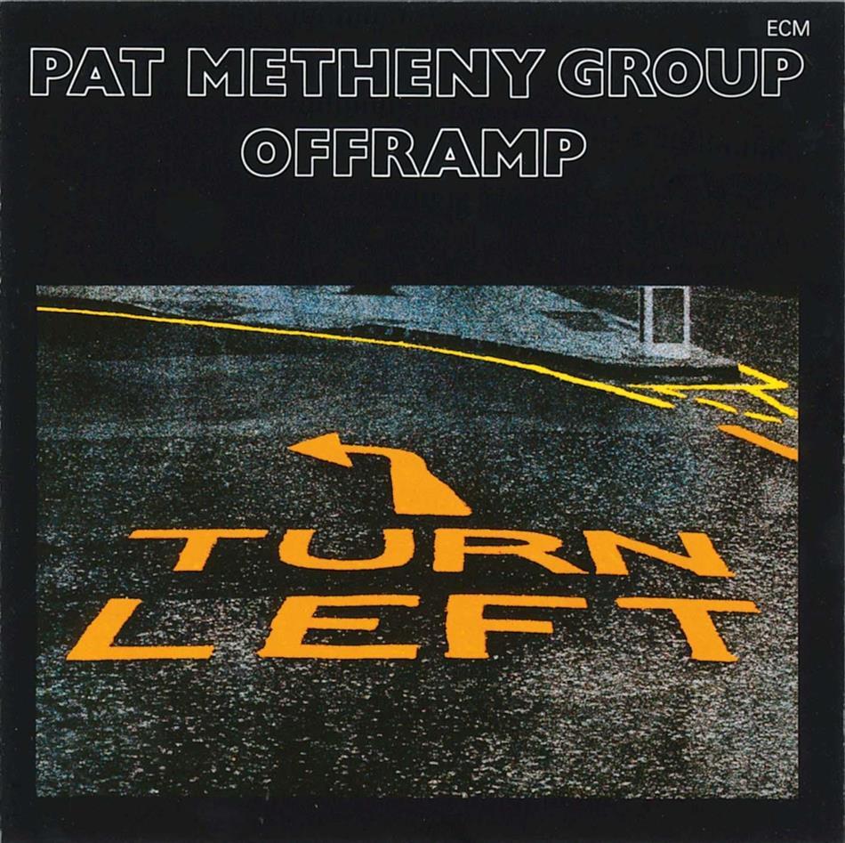 Pat Metheny - Offramp - Papersleeve