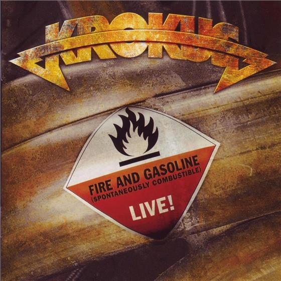 Krokus - Fire And Gasoline - Live (2 CDs)