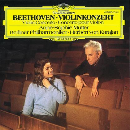 Ludwig van Beethoven (1770-1827), Herbert von Karajan, Anne-Sophie Mutter & Berliner Philharmoniker - Violinkonzert Op.61
