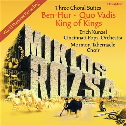 Miklós Rózsa (1907-1995) & Miklós Rózsa (1907-1995) - Three Choral Suite (SACD)