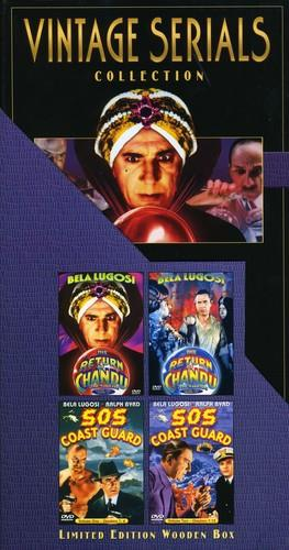 Vintage serials collection (Unrated, 4 DVDs)