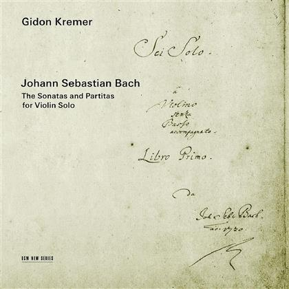 Johann Sebastian Bach (1685-1750) & Gidon Kremer - Sonaten Und Partiten Für Solo Violine - Sonatas And Partitas For Violin Solo (2 CDs)