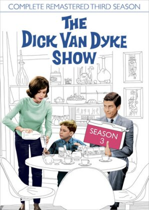 The Dick Van Dyke Show - Season 3 (s/w, Remastered, 5 DVDs)