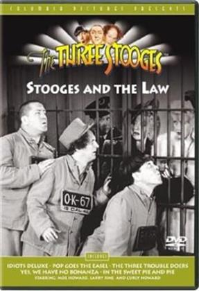 The three stooges: - The stooges and the law (s/w)