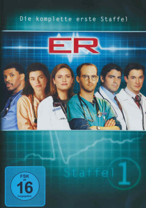 ER - Emergency Room - Staffel 1 (4 DVDs)