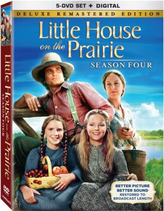 Little House on the Prairie - Season 4 (Deluxe Edition, Versione Rimasterizzata, 5 DVD)