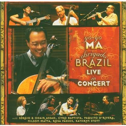 Ma Yo-Yo / D'rivera Paquito & Various - Obrigado Brazil - Live In Concert (2 CDs)