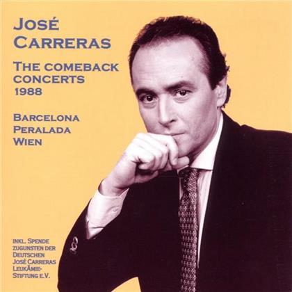 Chor+Orch.D.Deut.Oper Berlin & José Carreras - Comeback Concerts 1988