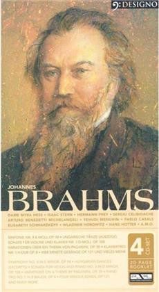 Div Orchester+Solisten & Johannes Brahms (1833-1897) - Designo Best Of - Brahms (4 CDs)