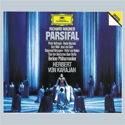 Richard Wagner (1813-1883), Herbert von Karajan & Berliner Philharmoniker - Parsifal (4 CDs)