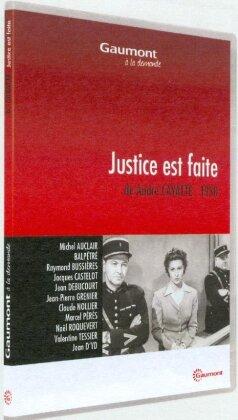 Justice est faite (1950) (Collection Gaumont à la demande, s/w)