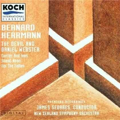 James/Nzso Sedares & Bernard Herrmann - Devil&Daniel Webster/Currier&I
