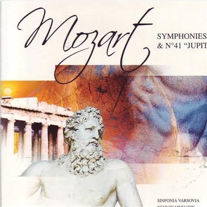 Sir Yehudi Menuhin & Wolfgang Amadeus Mozart (1756-1791) - Sinfonie 40+41