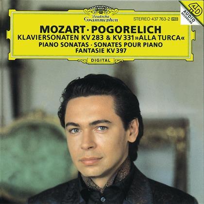 Ivo Pogorelich & Wolfgang Amadeus Mozart (1756-1791) - Klaviersonaten 283+331/Fant.