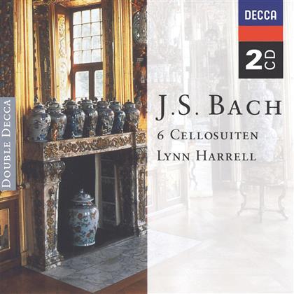 Lynn Harrell & Johann Sebastian Bach (1685-1750) - Cellosuiten 6 (2 CDs)