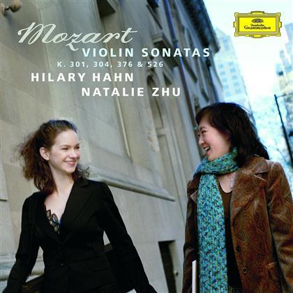 Hilary Hahn - Violinsonaten K.301/304/376/5