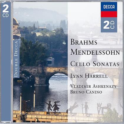 Lynn Harrell & Brahms J./Mendelssohn F. - Cello Sonaten (2 CDs)