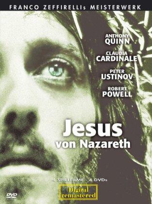 Jesus von Nazareth (1977) (Box, 4 DVDs)