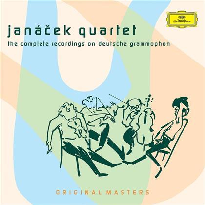 Janacek Quartett & Various - Janacek Quartett/Compl.Record. (7 CDs)