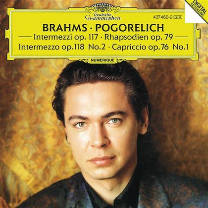 Ivo Pogorelich & Johannes Brahms (1833-1897) - Rhapsodie 1+2/Intermezzo
