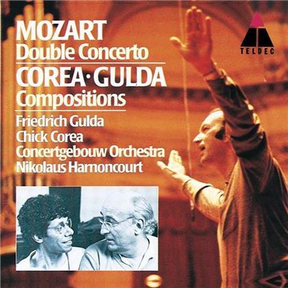 Chick Corea, Friedrich Gulda (1930-2000), Wolfgang Amadeus Mozart (1756-1791), Chick Corea & Friedrich Gulda (1930-2000) - Doppelkonzert, Fantasy, Pingpong