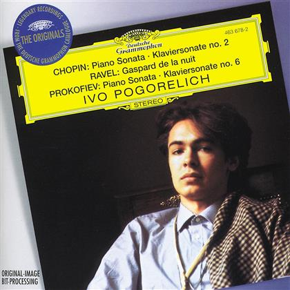 Ivo Pogorelich & Chopin Frederic / Ravel Maurice / U.A. - Klaviersonaten 2 / Gaspard D.La Nuit