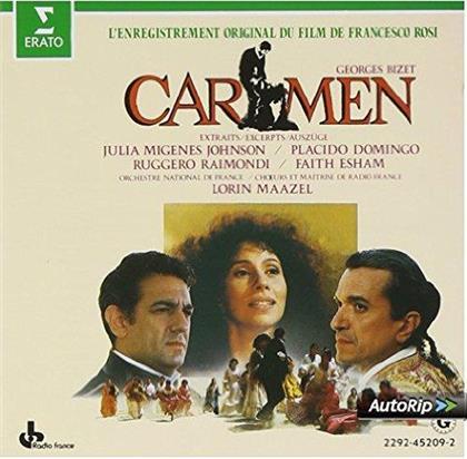 Placido Domingo, Julia Migenes, Ruggero Raimondi, Faith Esham, Georges Bizet (1838-1875), … - Carmen - - Auszüge des Filmsoundtracks