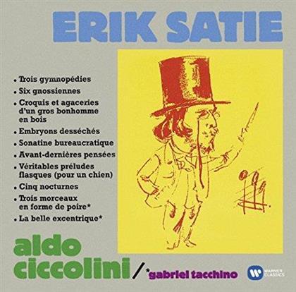 Eric Satie (1866-1925), Aldo Ciccolini & Gabriel Tacchino - Gymnopedies / Gnossiennes U.A. - Referenzaufnahme