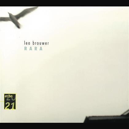 Brouwer & Diverse 20/21 - Leo Brouwer-Rara/Gitarrenrez.
