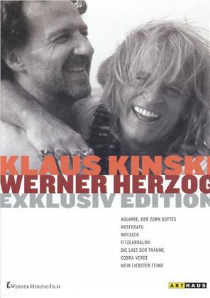 Klaus Kinski und Werner Herzog Edition - (Exklusiv Edition 7 DVDs)