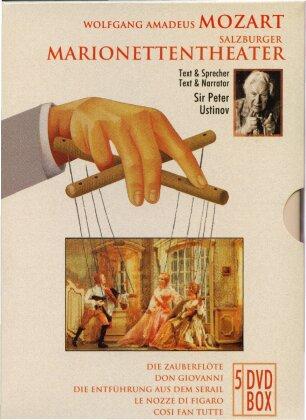 Salzburger Marionettentheater - Wolfgang Amadeus Mozart (5 DVDs)