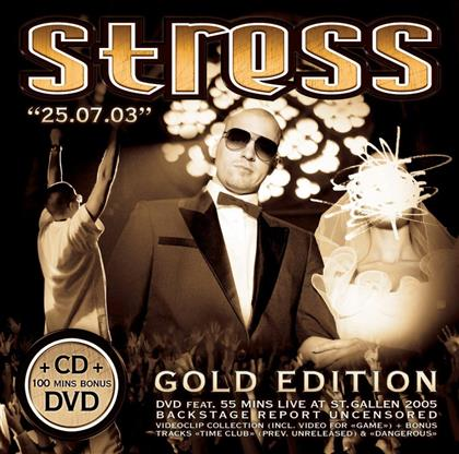 Stress - 25.07.03 (Gold Edition, CD + DVD)