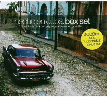 Ministry Of Sound - Hecho En Cuba - Box (4 CDs)