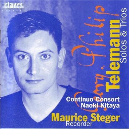 Maurice Steger & Arcangelo Corelli (1653-1713) - Drei Sonaten Für Blockflöte
