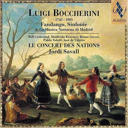 Luigi Boccherini (1743-1805), Luigi Boccherini (1743-1805) & Le Concert des Nations - Fandango, Sinfonie & La Musica Notturna Di Madrid