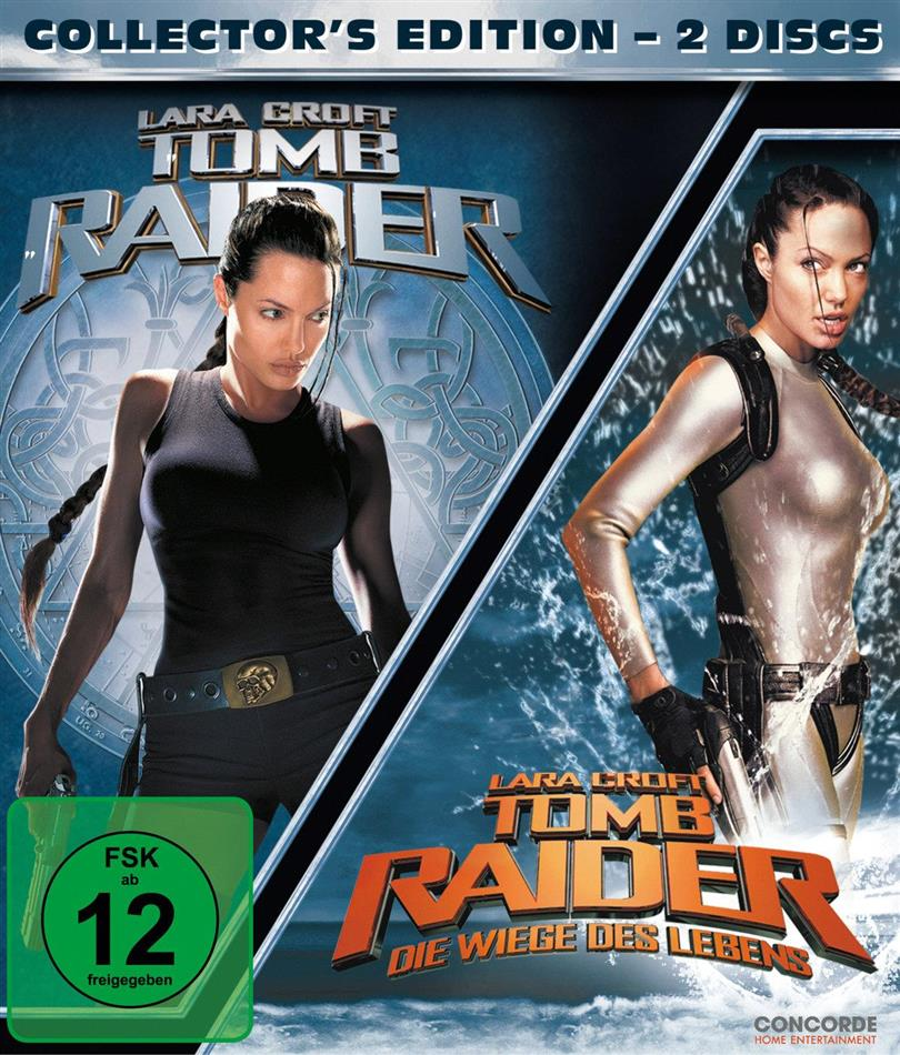 Lara Croft: Tomb Raider / Lara Croft: Tomb Raider - Die Wiege des Lebens (Collector's Edition, 2 DVDs)