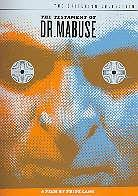 The testament of Dr. Mabuse (1933) (Criterion Collection, 2 DVDs)
