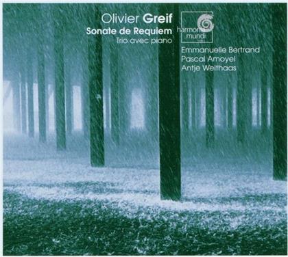 Bertrand/Amoyel/Weithaas & Olivier Greif - Sonate De Requiem, Klaviertrio