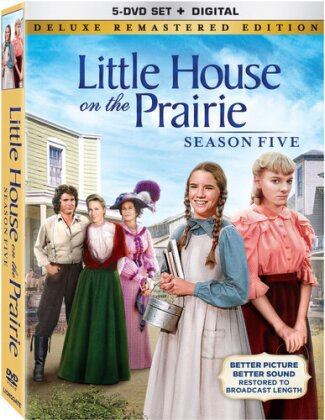 Little House on the Prairie - Season 5 (Deluxe Edition, Versione Rimasterizzata, 5 DVD)