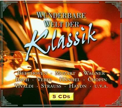 Various & Various - Wunderbare Welt Der Klassik (5 CDs)