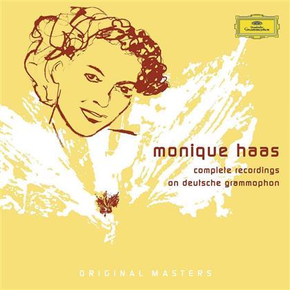 Monique Haas & Various - Complete Rec. On Deutsche Grammo. s (8 CDs)