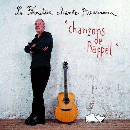 Maxime Le Forestier - Chante Brassens - Les Chansons De Rappel
