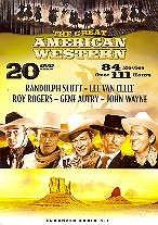 The great American westerns (Limited Edition, 20 DVDs)