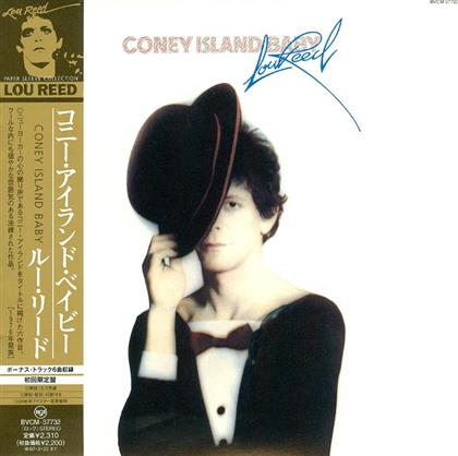 Lou Reed - Coney Island Baby - Papersleeve (Japan Edition)