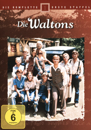 Die Waltons - Staffel 1 (6 DVDs)