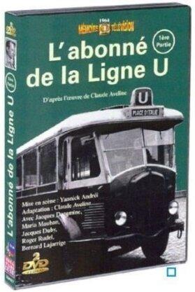 L'abonné de la ligne U - Partie 1 (Mémoire de la Télévision, Box, b/w, 2 DVDs)