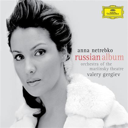 Anna Netrebko & Various - Russian Album (Deluxe Edition, CD + DVD)