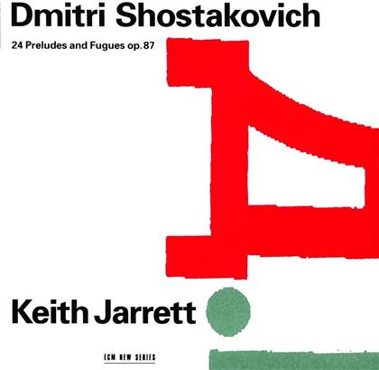 Keith Jarrett & Dimitri Schostakowitsch (1906-1975) - 24 Preludes And Fugues Op. 87 (2 CDs)