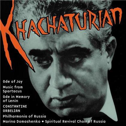 Marina Domashenko & Aram Khatchaturian (1903-1978) - Musik Aus Spartacus, Ode An Die