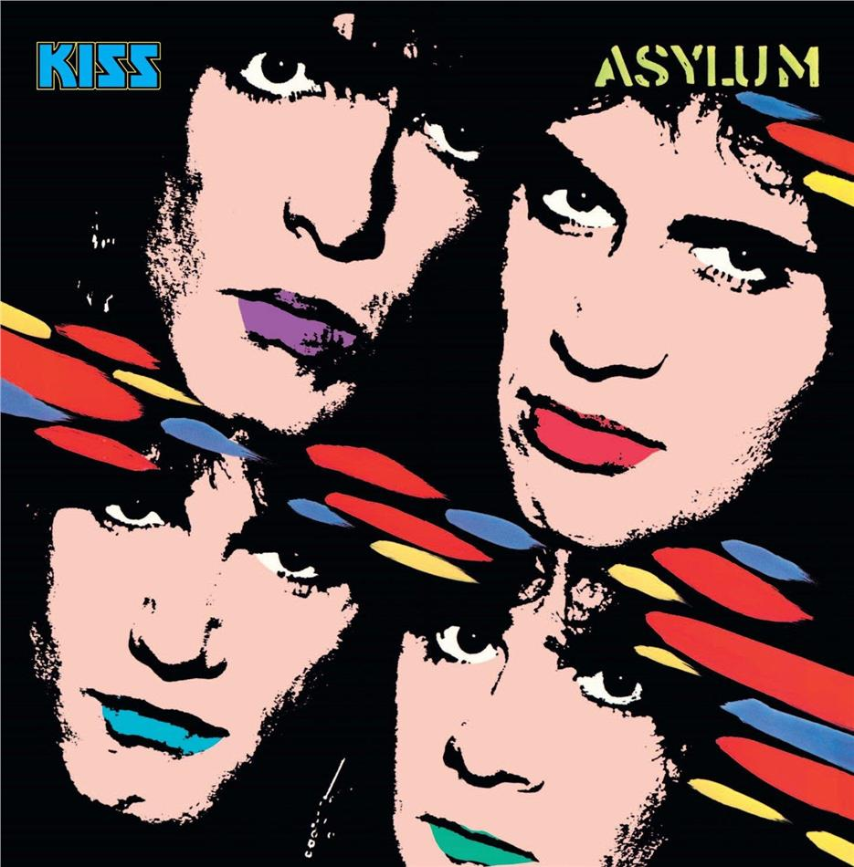 Kiss - Asylum - Reissue